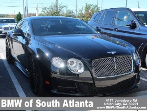 2012 Bentley Continental for sale at Carol Benner @ BMW of South Atlanta in Union City GA