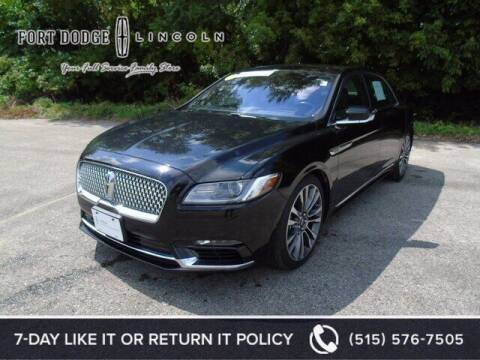 2019 Lincoln Continental for sale at Fort Dodge Ford Lincoln Toyota in Fort Dodge IA