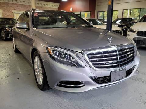 2014 Mercedes-Benz S-Class for sale at AW Auto & Truck Wholesalers  Inc. in Hasbrouck Heights NJ