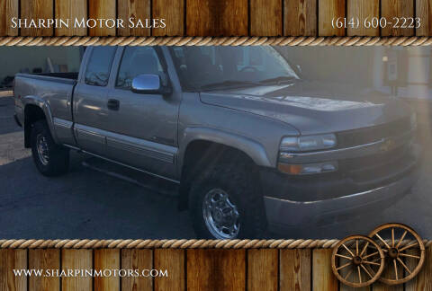 2001 Chevrolet Silverado 2500HD for sale at Sharpin Motor Sales in Columbus OH