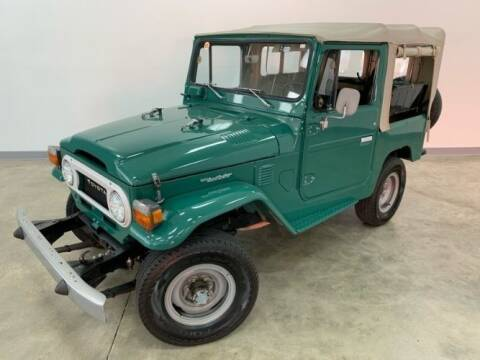 1977 Toyota Land Cruiser for sale at Classic Car Deals in Cadillac MI