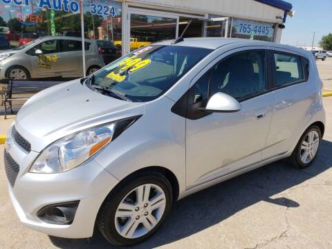 2015 Chevrolet Spark for sale at Pioneer Auto in Ponca City OK