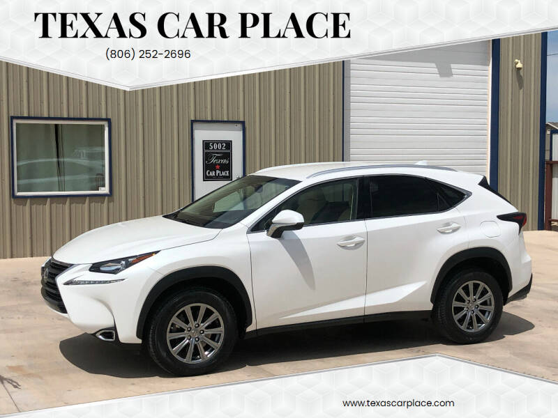 2017 Lexus NX 200t for sale at TEXAS CAR PLACE in Lubbock TX