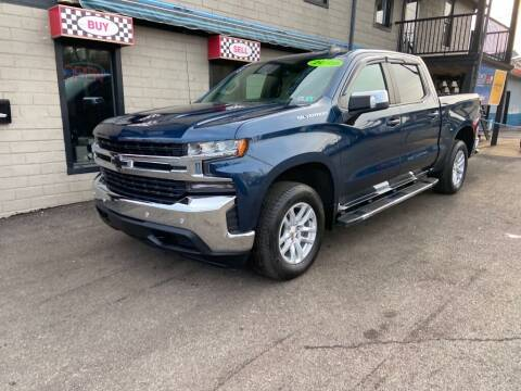 2019 Chevrolet Silverado 1500 for sale at Sisson Pre-Owned in Uniontown PA