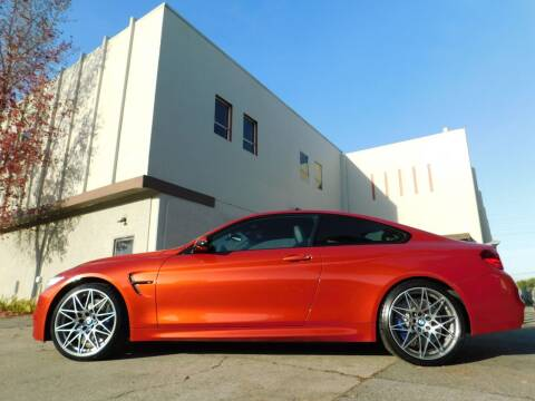 2017 BMW M4 for sale at Conti Auto Sales Inc in Burlingame CA
