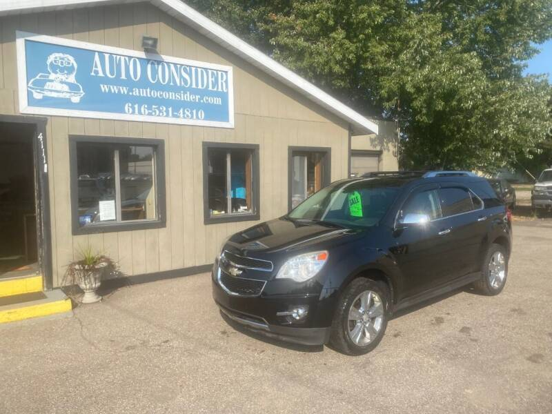 2010 Chevrolet Equinox for sale at Auto Consider Inc. in Grand Rapids MI