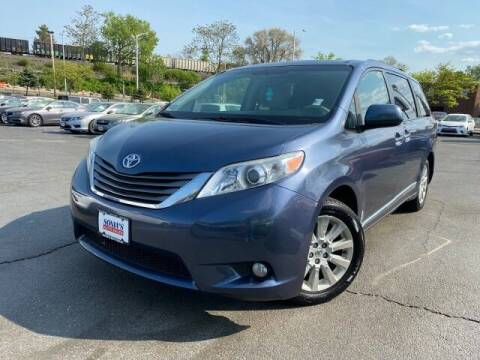 2013 Toyota Sienna for sale at Sonias Auto Sales in Worcester MA