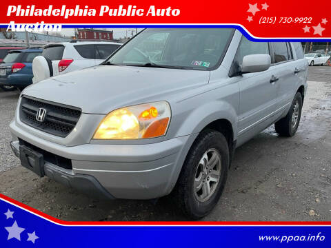 2004 Honda Pilot for sale at Philadelphia Public Auto Auction in Philadelphia PA