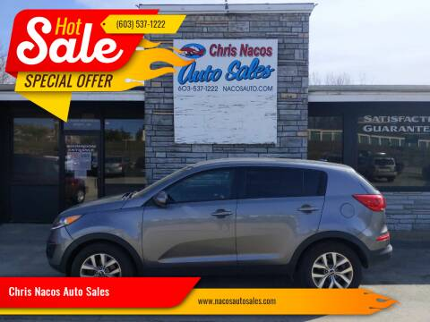 2015 Kia Sportage for sale at Chris Nacos Auto Sales in Derry NH