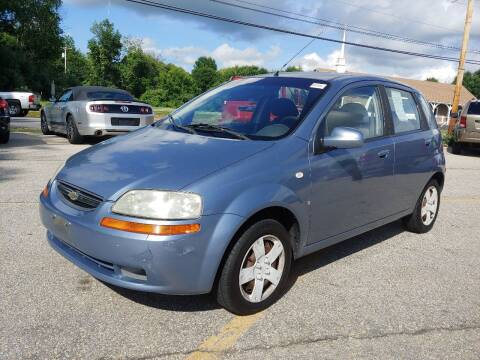 2007 Chevrolet Aveo for sale at J's Auto Exchange in Derry NH