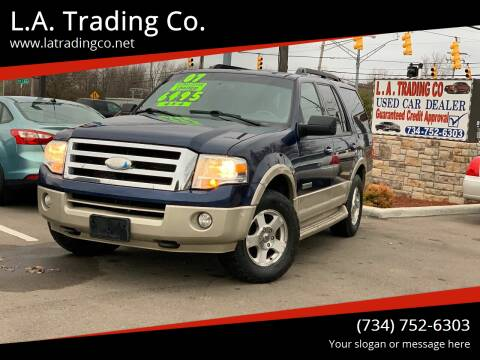 2007 Ford Expedition for sale at L.A. Trading Co. in Woodhaven MI