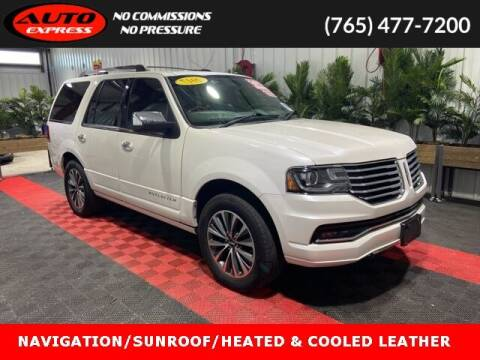 2017 Lincoln Navigator for sale at Auto Express in Lafayette IN