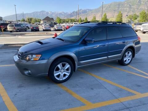 2005 Subaru Outback for sale at Shamrock Group LLC #1 in Pleasant Grove UT