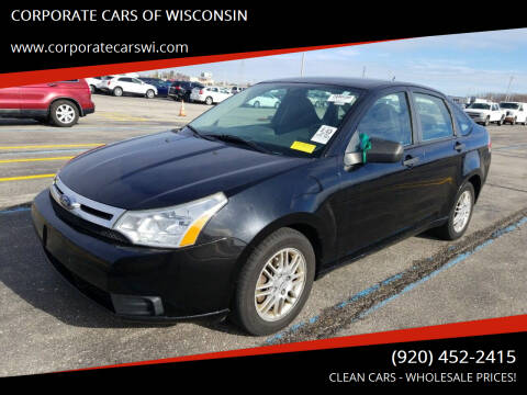 2010 Ford Focus for sale at CORPORATE CARS OF WISCONSIN - DAVES AUTO SALES OF SHEBOYGAN in Sheboygan WI
