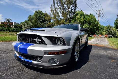 2008 Ford Shelby GT500 for sale at Sunshine Classics, LLC in Boca Raton FL