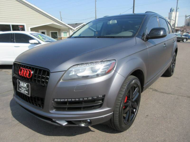 2014 Audi Q7 for sale at Dam Auto Sales in Sioux City IA
