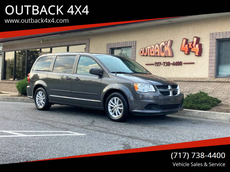2016 Dodge Grand Caravan for sale at OUTBACK 4X4 in Ephrata PA