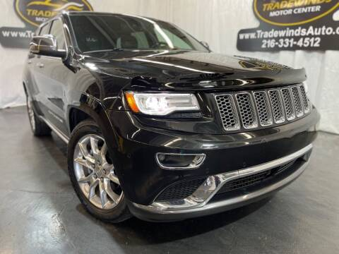2014 Jeep Grand Cherokee for sale at TRADEWINDS MOTOR CENTER LLC in Cleveland OH