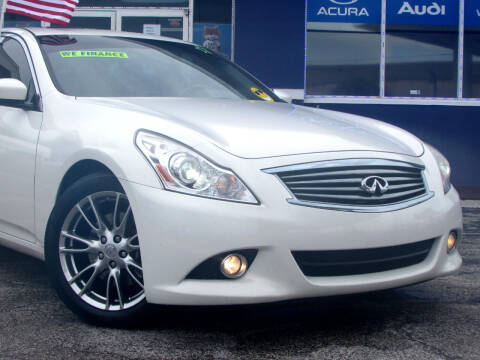 2013 Infiniti G37 Sedan for sale at Orlando Auto Connect in Orlando FL