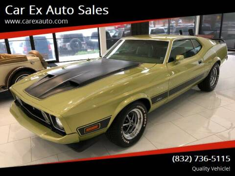 1973 Ford Mustang for sale at Car Ex Auto Sales in Houston TX