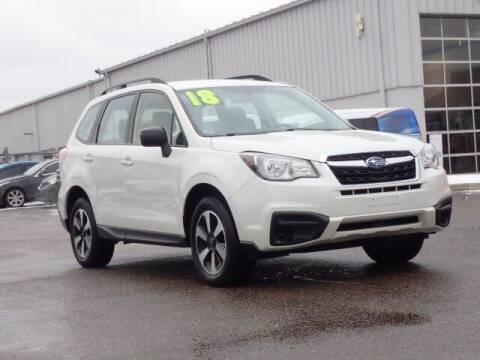 2018 Subaru Forester for sale at Szott Ford in Holly MI