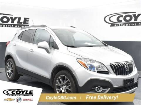 2016 Buick Encore for sale at COYLE GM - COYLE NISSAN - New Inventory in Clarksville IN