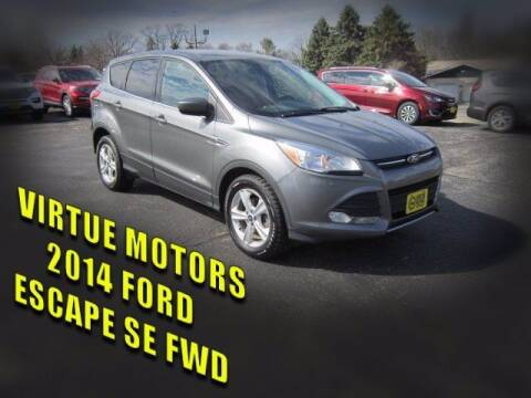 2014 Ford Escape for sale at Virtue Motors Used in Darlington WI