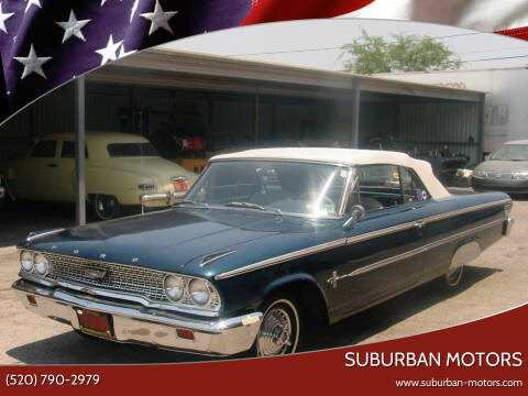 1963 Ford Galaxie 500 for sale at Suburban Motors in Tucson AZ
