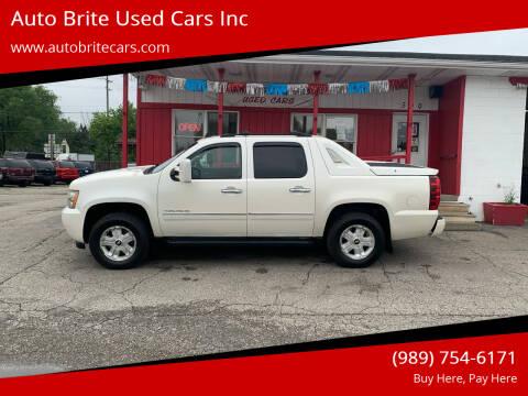 2011 Chevrolet Avalanche for sale at Auto Brite Used Cars Inc in Saginaw MI