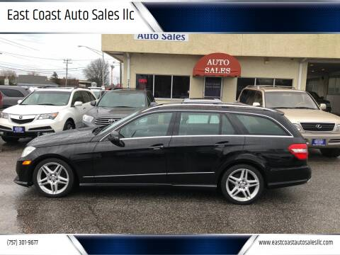 2013 Mercedes-Benz E-Class for sale at East Coast Auto Sales llc in Virginia Beach VA