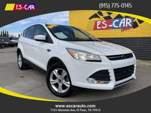 2014 Ford Escape for sale at Escar Auto in El Paso TX