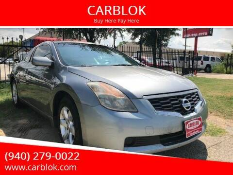 2009 Nissan Altima for sale at CARBLOK in Lewisville TX