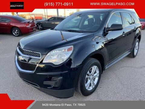 2013 Chevrolet Equinox for sale at SOUTHWEST AUTO GROUP-EL PASO in El Paso TX