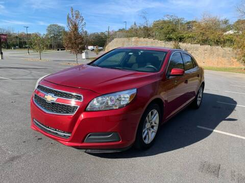 2013 Chevrolet Malibu for sale at Allrich Auto in Atlanta GA