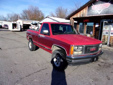 1989 GMC Sierra 1500 for sale at LEE AUTO SALES in McAlester OK