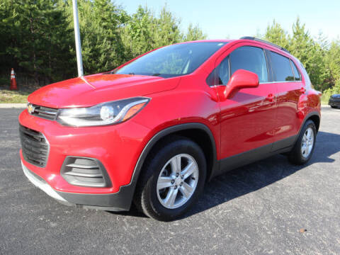 2017 Chevrolet Trax for sale at RUSTY WALLACE KIA OF KNOXVILLE in Knoxville TN