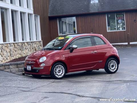 2012 FIAT 500 for sale at Cupples Car Company in Belmont NH