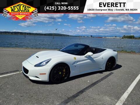 2013 Ferrari California for sale at West Coast Auto Works in Edmonds WA