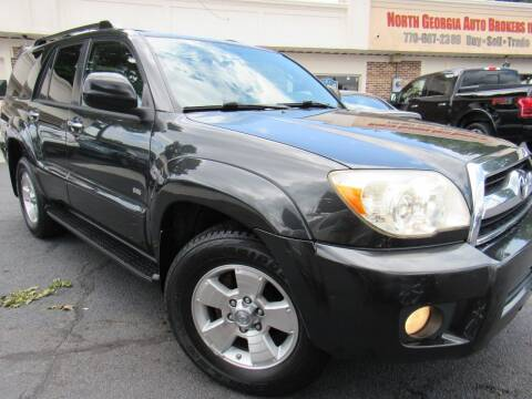 2008 Toyota 4Runner for sale at North Georgia Auto Brokers in Snellville GA