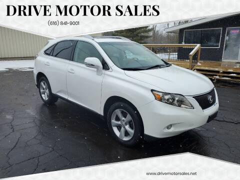 2010 Lexus RX 350 for sale at Drive Motor Sales in Ionia MI