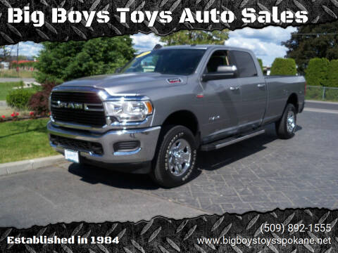 2019 RAM Ram Pickup 3500 for sale at Big Boys Toys Auto Sales in Spokane Valley WA