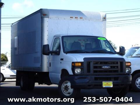2013 Ford E-Series Chassis for sale at AK Motors in Tacoma WA
