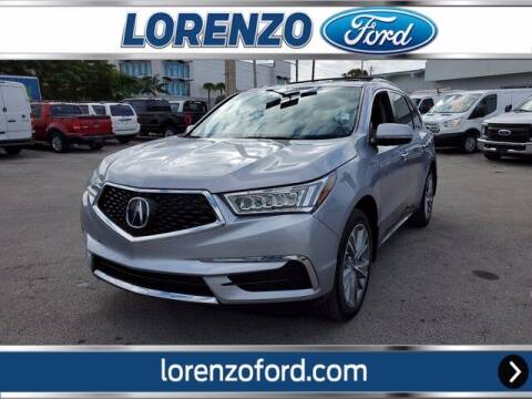 2017 Acura MDX for sale at Lorenzo Ford in Homestead FL
