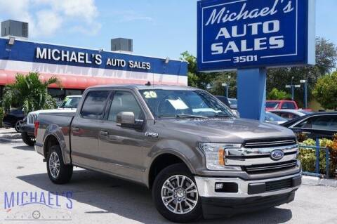 2020 Ford F-150 for sale at Michael's Auto Sales Corp in Hollywood FL