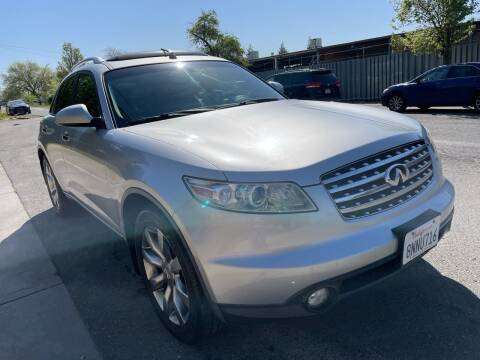 2004 Infiniti FX35 for sale at Moun Auto Sales in Rio Linda CA