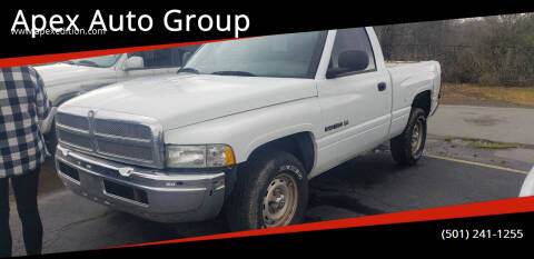2001 Dodge Ram Pickup 1500 for sale at Apex Auto Group in Cabot AR