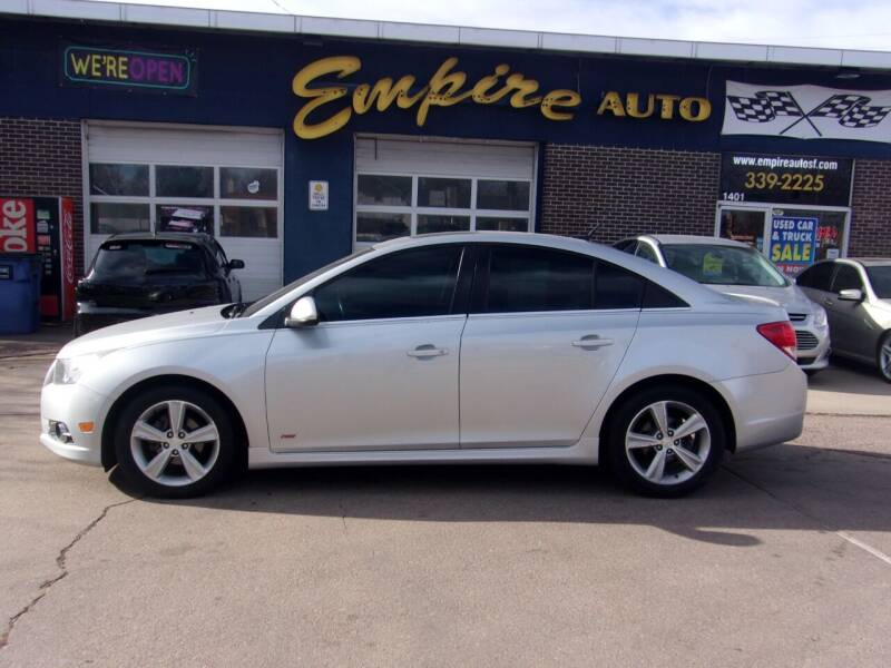 2013 Chevrolet Cruze for sale at Empire Auto Sales in Sioux Falls SD