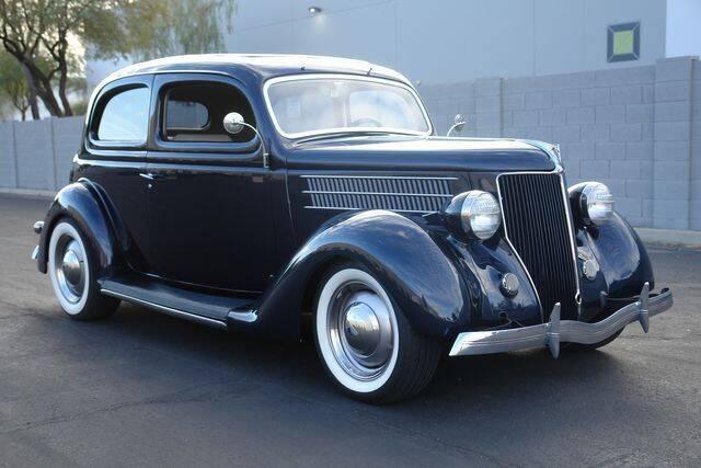 1936 Ford 2 Door Humpback for sale at Arizona Classic Car Sales in Phoenix AZ