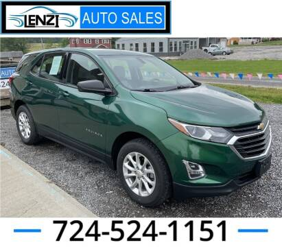 2018 Chevrolet Equinox for sale at LENZI AUTO SALES in Sarver PA