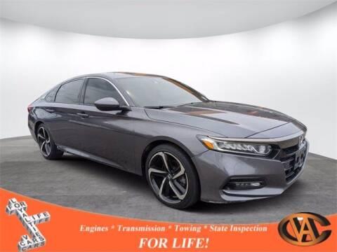 2018 Honda Accord for sale at VA Cars Inc in Richmond VA